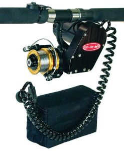 fishing reel with cpi momentary contact switch
