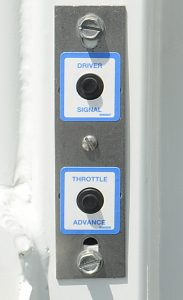 CPI Pre-wired waterproof dual switch panel